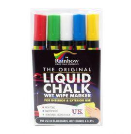 Liquid Chalk Pens Assorted Colours
