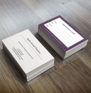 Budget Business Cards and Appointment Cards