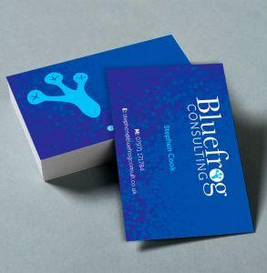 Soft Touch Velvet Business Cards