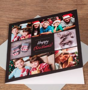 Square Personalised Greeting Cards