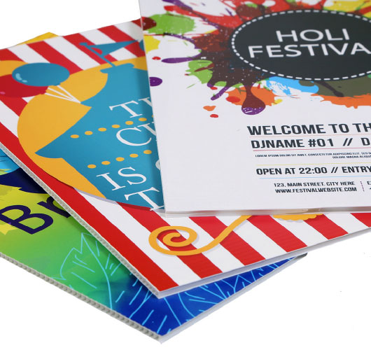 The everlasting appeal of fluted display boards
