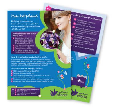 How to create high impact business leaflets