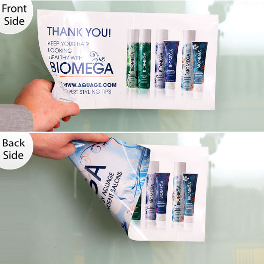 double sided window static cling stickers