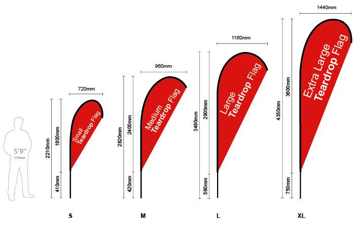 teardrop-flag-sizes