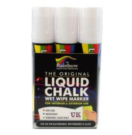White Liquid Chalk Pens