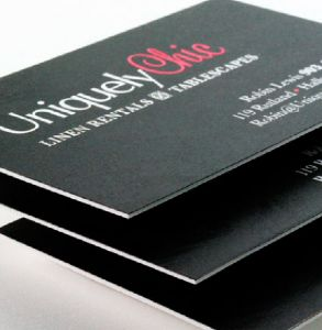Extra Thick Matt Laminated Business Cards