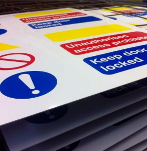 Rigid PVC Plastic Signs
