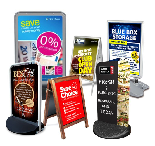Pavement signs: the ultimate marketing tools for brick-and-mortar businesses