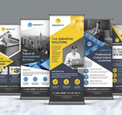 How to design the perfect roller banner