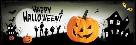 Halloween PVC Banner Printing