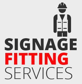 signage installation service